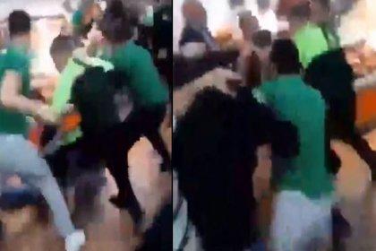 Beşiktaşlı taraftarlara saldıran Bursaspor taraftarlarından 2'si gözaltına alındı