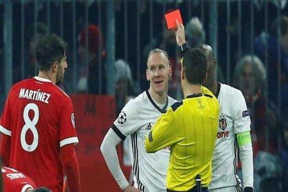 Beşiktaş'ta 16. dakikada kırmızı kart şoku!