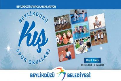 Beylikdüzü Kış Spor Okulları başlıyor