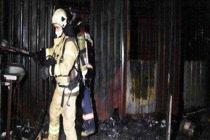 Beylikdüzü'nde konteynerde yangın: 3 işçi öldü
