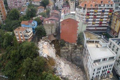 Beyoğlu'nda 7 bina mühürlendi