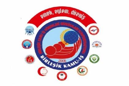 Birleşik Kamu-İş, 15 Ocak'ta basın açıklaması ve bordro yakma eylemi yapacak