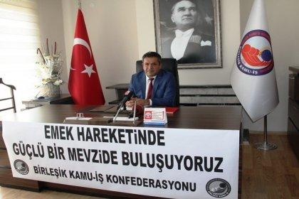 Birleşik Kamu İş Genel Başkanı Mehmet Balık: Emek hareketinde güçlü bir mevzide buluşuyoruz