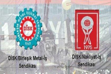Birleşik Metal-İş ve Nakliyat-İş 1 Mayıs'ta Taksim'de
