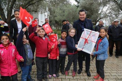 Bodrum Belediye Başkanı Kocadon, Çamlık'ta kermese katıldı
