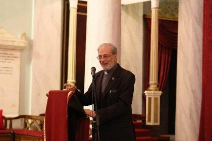 Boğos Levon Zekiyan'ın 'Kayıp Kentten Manevi Vatana' adlı kitabının tanıtımı Surp Pırgiç Ermeni Kilisesi'nde yapıldı
