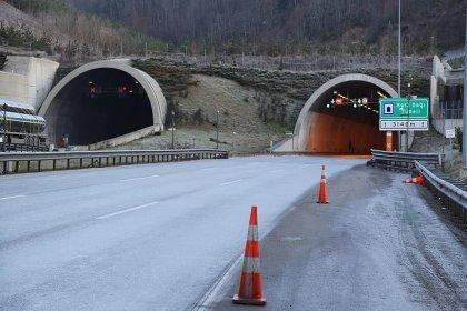 Bolu Dağı Tüneli'nin Ankara yönü 20 gün boyunca ulaşıma kapanacak