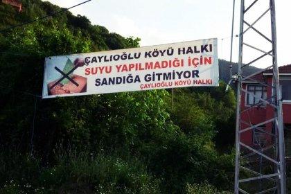 Bolu ve Sinop'ta 2 köy seçimlerde oy kullanmayacak