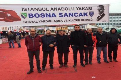 Bosna Sancak Derneği'nden sirk gösterisi