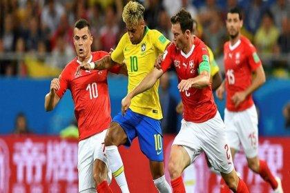 Brezilya ile İsviçre 1-1 berabere kaldı