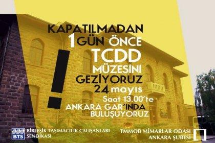 BTS ve Mimarlar Odası'ndan kapanacak olan TCDD Müzesi için çağrı