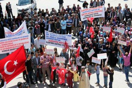 Bursa'da biyokütle enerji santraline köylülerden tepki: 'Santrali yapma boşuna, yıkacağız başına'