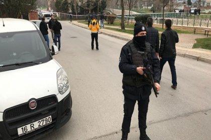 Bursa'da Patlama:1 Polis memuru yaralı