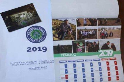 Büyükmandıra Belediyesi'nden 2019 yılı takvimi