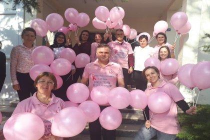 Büyükmandıra Belediyesi'nden meme kanseri için 'farkındalık' etkinliği