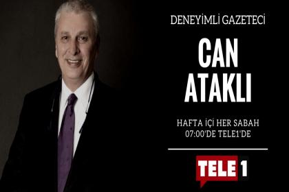 Can Ataklı, Tele1 TV'de 2 Mayıs'ta sabah programına başladı