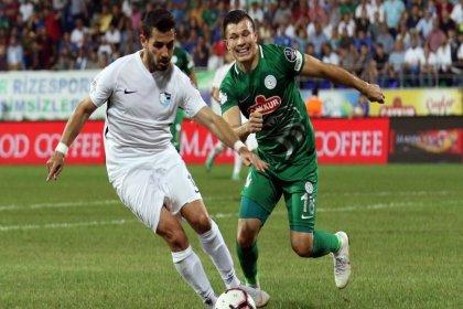 Çaykur Rizespor, Erzurumspor'la 0-0 berabere kaldı
