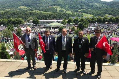 CHP heyeti, Srebrenitsa Soykırımı'nın anma törenine katıldı