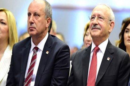CHP lideri Kılıçdaroğlu ve Muharrem İnce 12.00'de bir araya geliyor