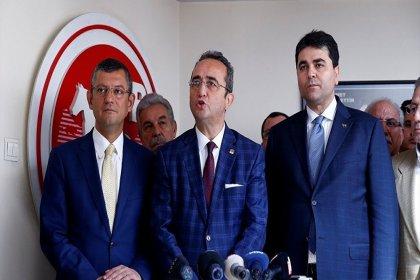 CHP'den Demokrat Parti'ye 'erken seçim' ziyareti