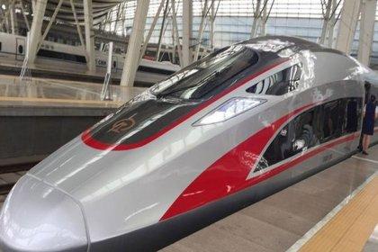 Çin, yüksek hızlı treninin test sürüşlerini 2019'da tamamlayacak