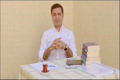 Demirtaş'tan diğer Cumhurbaşkanı adaylarına mesaj