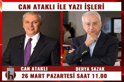 Derya Sazak, Can Ataklı'nın konuğu oluyor
