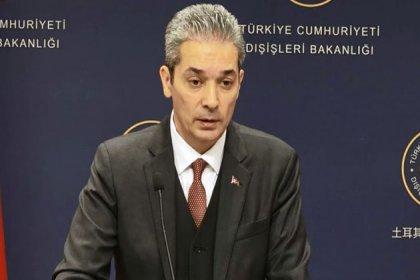 Dışişleri Bakanlığı Sözcüsü Aksoy'dan Türk gemisine füze saldırısı açıklaması
