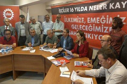 DİSK, işçilerin seçim bildirgesini açıkladı