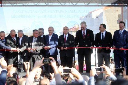'Dumlupınar Sosyal Tesisleri ve Başkomutan Gazi Mustafa Kemal Atatürk Misafirhanesi' coşkuyla açıldı