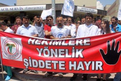 Edirne'de hasta yakınları hekime saldırdı, Tabip Odası açıklama yaptı: Biz artık geçmiş olsun dileklerini duymak istemiyoruz