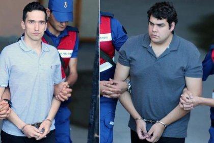 Edirne'de yasak bölgede yakalanan tutuklanan 2 Yunan askerinin tutuksuz yargılanmak üzere serbest bırakılmasına karar verildi