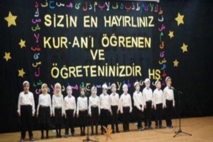 Eğitimde dincileşmenin bir örneği daha: Anaokul öğrencilerine türban giydirdiler