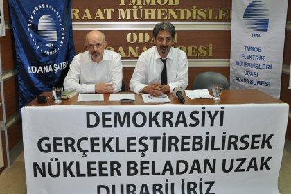 EMO Samsun Şubesi Başkanı Özdağ: Türkiye'de kullanılmayacak kadar çok nükleer santral var