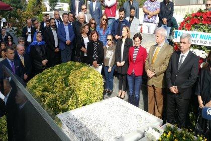 Erdal İnönü ölümünün 11. yılında mezarı başında anıldı