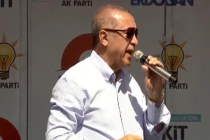 Erdoğan: CHP'den görevi aldığım zaman İstanbul susuzdu, suyu ben getirdim