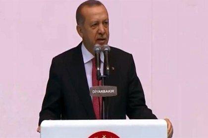 Erdoğan Diyarbakır'da konuştu: Biz milletimize bölünmeyi değil bölüşmeyi, ayrımcılığı değil kardeşliği teklif ettik