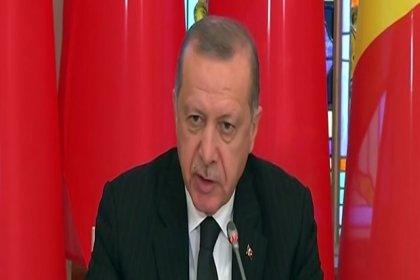 Erdoğan: FETÖ devletin kademelerine sızarak Moldova'da da aynı adımları atabilir