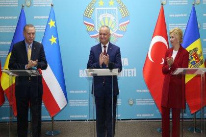 Erdoğan: Moldova'nın toprak bütünlüğü bizim için hayati öneme sahiptir