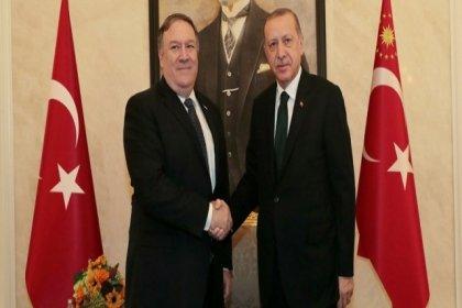 """""""Erdoğan, Pompeo'ya 'Sizin için zorsa Menbiç'te teröristleri biz temizleriz' dedi"""""""