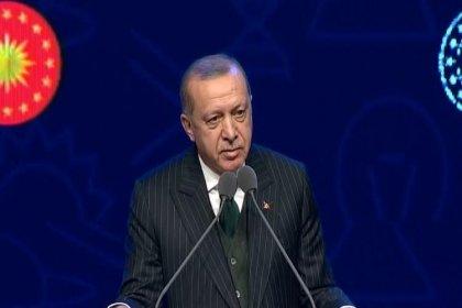 Erdoğan: Türk üniversiteleri ilk defa bizim dönemimizde bilim üretim merkezleri haline geldi