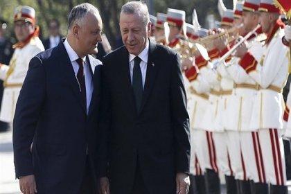 Erdoğan ve Dodon'dan ortak basın toplantısı