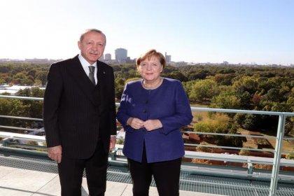 Erdoğan ve Merkel kahvaltıda bir araya geldi