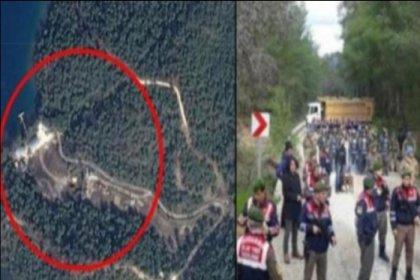 'Erdoğan'ın yazlık sarayı için 40 bin ağaç kesildi' haberine erişim engeli