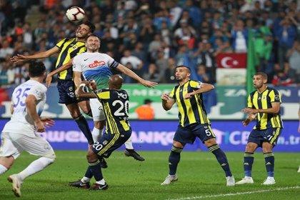 Fenerbahçe, Çaykur Rizespor'a 3-0 mağlup oldu