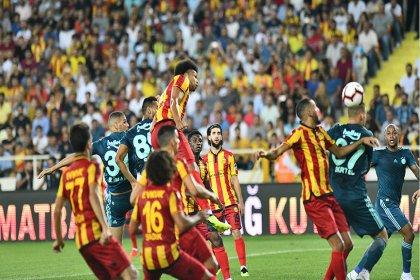 Fenerbahçe, Evkur Yeni Malatyaspor'a 1-0 mağlup oldu