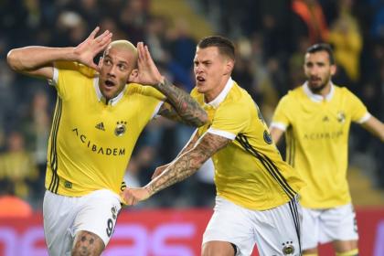 Fenerbahçe, Göztepe'yi 2-1 yendi