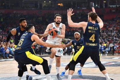 Finalde Real Madrid'e 85-80 kaybeden Fenerbahçe Euroleague'de ikinci oldu