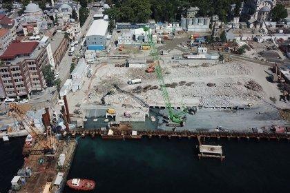 Galataport Projesi kapsamında İstanbul Modern binası da yıkıldı
