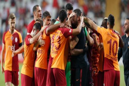 Galatasaray, Antalyaspor'u 1-0 yendi